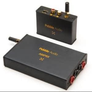 Pebble Audio RCA2AMP Langaton lähetin ja vahvistin