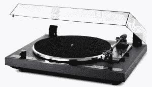Thorens TD 170-1 täysautomaattinen levysoitin, musta