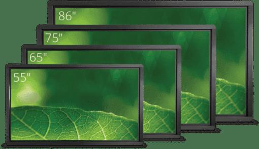 Clevertouch Pro Series High Precision kosketusnäyttö kaikki koot