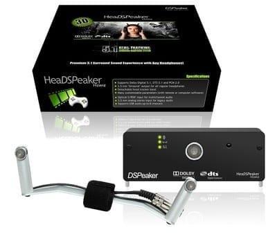 HeaDSPeaker 5.1 äänijärjestelmä kuulokkeisiin