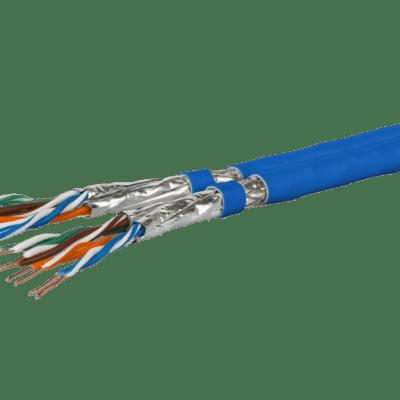 Metz Connect Cat.7A S/FTP duplex asennuskaapeli